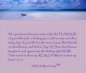 What is your Flavour of Life?