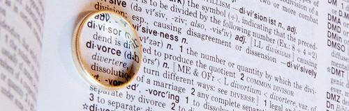 my divorce